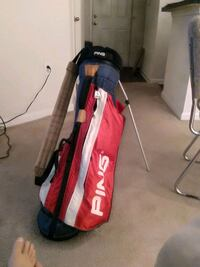 red and black golf bag Raleigh, 27614
