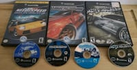 GameCube Need for Speed collection Montréal, H4B 1R8