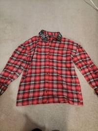 Topshop plaid shirt