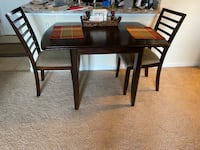 Apartment sized dining table