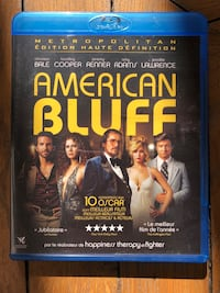 Blu-ray. American bluff. 10 Nominations Oscar Paris, 75009