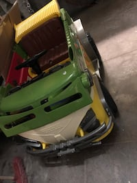 Toddler's yellow, white, and green ride on toy car Los Angeles, 90015