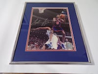 Latrell Sprewell certified autographed picture Framingham