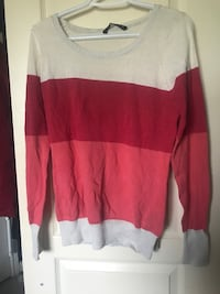 white and red long-sleeved shirt St Catharines, L2S 4A6