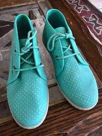 pair of teal Nike low-top sneakers Oxnard, 93030