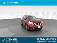 2016 Nissan Murano suv S Sport Utility 4D Red Brentwood