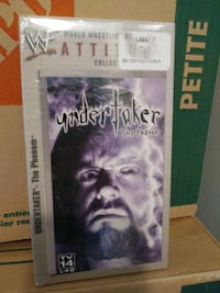 SEALED WWF UNDERTAKER THE PHENOM  ATTITUDE COLLECTION VHS TAPE