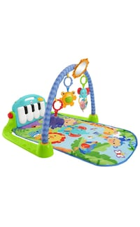 Green and blue baby activity gym Coquitlam, V3J