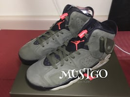 TRAVIS SCOTT JORDAN 6  size 7y
