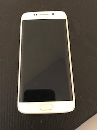 S6 edge 64gb small hairline crack on top corner  Edmonton, T5P 4Z6
