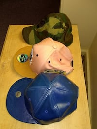 Mens fitted caps Troy, 12180