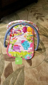 baby's multicolored activity gym Troy