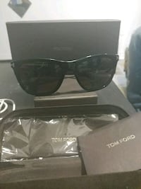 black framed Ray-Ban sunglasses with case Toronto