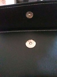 black and gray leather bag Decatur, 30032