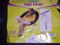 Chair, spandex egg chair Olney