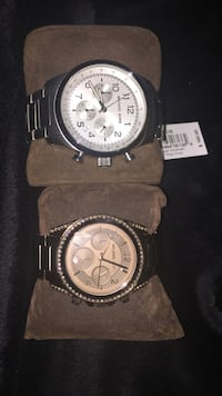 Two brand new MIchael Kors watches with tags. Great deal !!! 390 mi