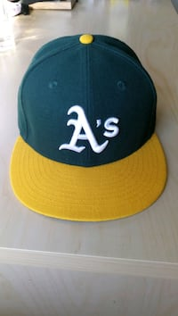 Oakland A's Fitted Cap Size 7 Markham, L3R 1N3