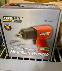 Central Pneumatic Earth Quake 3/8 Professional Air Ratchet Wrench $35 Country Club Hills, 60478