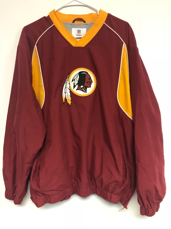red and yellow NFL jersey