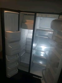 white side-by-side refrigerator Fort Worth, 76117