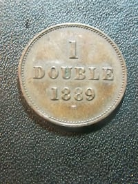 1889 H Guernesey 1 Double  Tobyhanna, 18466