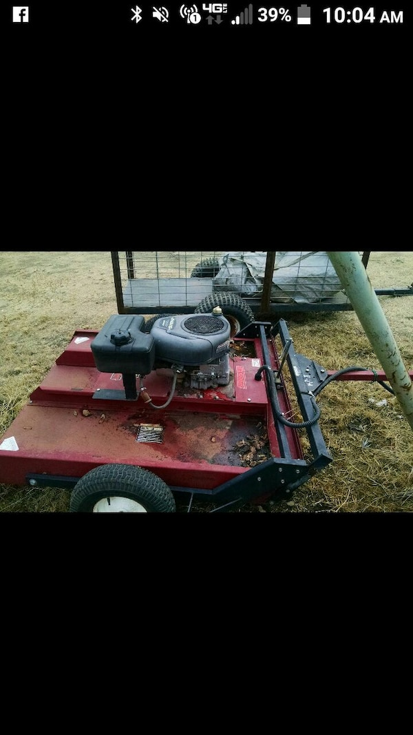 14.5hp Swisher pull behind mower