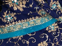 Royal Blue Sari with Skirt Langley, V3A 1W3