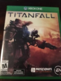 Xbox 360 Titanfall game case