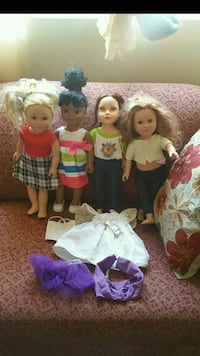 """18"""" our generation dolls 50 for all North Las Vegas, 89031"""