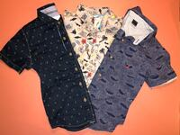Children's Boys Sleeveless Button Down Shirts SZ T6 Las Vegas, 89123