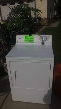 white front load clothes dryer Temecula, 92592
