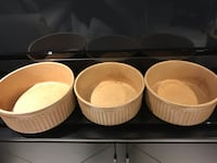 Stoneware serving bowls. One large and two small bowls b Mississauga, L5H 3M6
