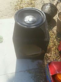 black and gray subwoofer speaker Bakersfield, 93306