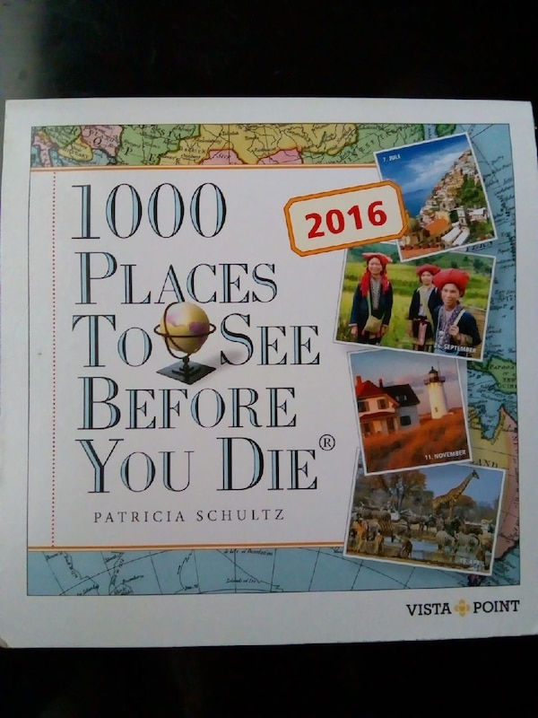 Book: 1000 Places to See Before You Die