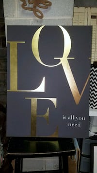 Very large Hobby Lobby LOVE wall decor Trussville