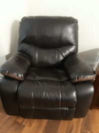 Reclining Chair and Loveseat null