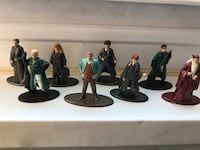 Harry Potter metal figurines. Small, collectible   Derwood, 20855