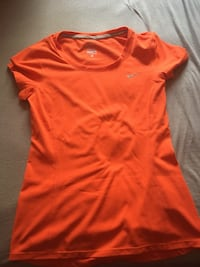 Orange Nike Dri Fit Shirt 547 km