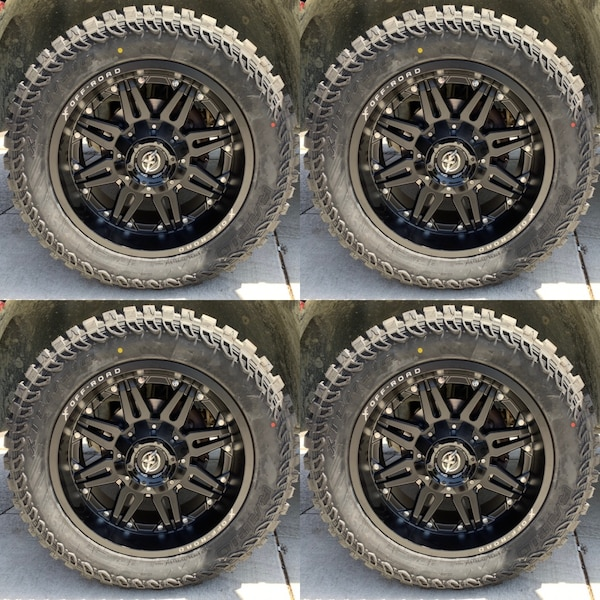 Off Road Tires For Sale >> 17 18 20 22 Off Road Wheels With Mud Tires On Sale