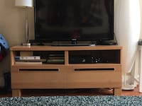 brown wooden tv stand Silver Spring, 20910