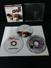 Workout DVDs 27 km