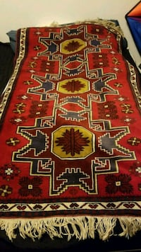 6ft x 4ft hand knooted wool Turkish rug Mountain View, 94043