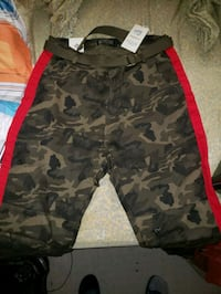 Plus size Womans camouflage Jeggings