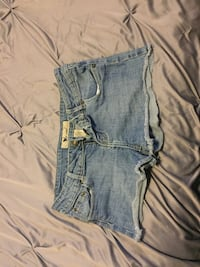 Wet Seal Jean Shorts (Size: 7) Chantilly, 20152