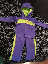 toddler's purple pump hoodie and pants Richmond Hill, L4C 2S4