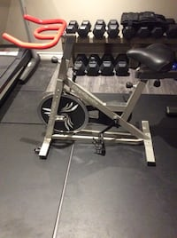 Gray and black stationary bike Barrie, L4N 1Z1