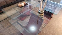 Glass DESIGNER coffee TABLE set.DELIVERY $50  Edmonton, T6H 0N9