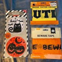 HALLOWEEN REFLECTIVE STICKERS & TAPE $2 ALL Fort Worth, 76107