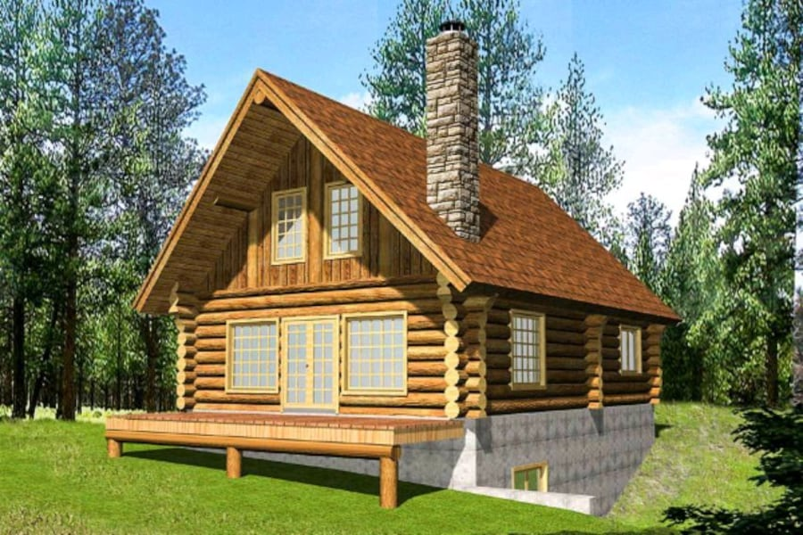 OWN LAND IN VERMONT?::: I build log cabins CHEAP! 63801d7f-f80a-4bed-aa13-8fa258a89132