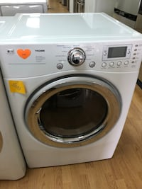 LG white gas dryer  Woodbridge, 22191